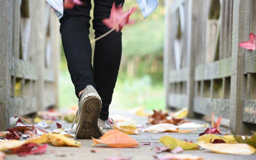 Őszi pedikűr, lábápolás