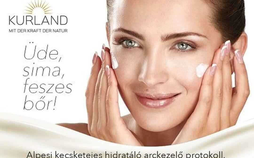 Kurland® mélyhidratáló alpesi kecsketejes arc- és kézkezelés